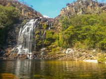 Serrra Morena Waterfall immagini stock