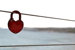 Serrure de l'amour Photo stock