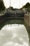 Serrure de mer sur le canal de Lydney Photo libre de droits
