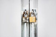 Serrure de porte et de portes Images stock
