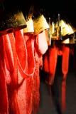 Serrure de souhait de Huashan de montagne Photos libres de droits