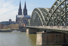 Serrure Gallary, Cologne, Allemagne d'amour Photo stock