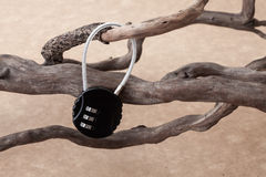 Serrure principale de mot de passe photo libre de droits