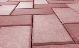 Serrure rouge pavant la texture wallpaper illustration libre de droits