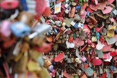 Serrures d'amour Photographie stock libre de droits