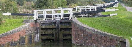 Serrures de Caen près de Devizes Angleterre Photographie stock