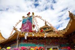 The Sertar buddhish college Royalty Free Stock Photos