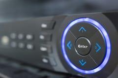Serucity监视系统记录器控制室 免版税库存图片
