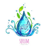 Serum Essence Droplet Composition Royalty Free Stock Photography