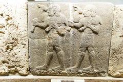 Servants of Kubala carrying sacrificial animals Stock Image