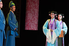 "Servants-wealthy and influential family-Jiangxi opera ""Red pearl"" Royalty Free Stock Images"