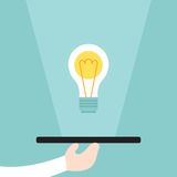 Serve an idea business concept Royalty Free Stock Photography