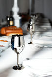 Served banquet table Royalty Free Stock Images