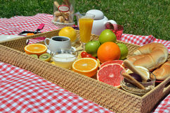 Served breakfast Stock Photos