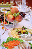 The served festive table Royalty Free Stock Image