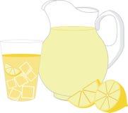 Served Lemonade Stock Photos