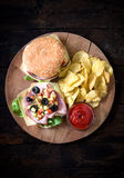 Served pub sandwiches Stock Images