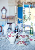 Served table Royalty Free Stock Photo