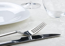 Served table Stock Image