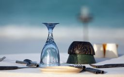 Served table Royalty Free Stock Photography