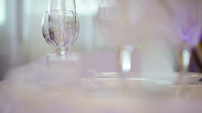 Served table Royalty Free Stock Photos