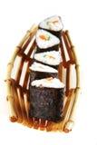 Served tako sushi Stock Photos