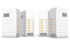 Server Vector Illustratie