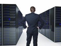 Server Foto de Stock