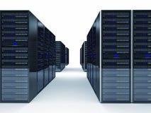 Server 3d Stock Photo