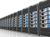 Server 3d Lizenzfreie Stockbilder