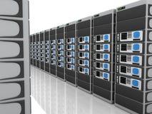server 3D Immagini Stock