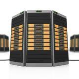 server 3D Imagens de Stock