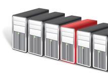 Server illustrazione vettoriale