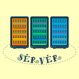 server Stock Afbeelding