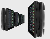 Server altas tecnologia Imagem de Stock Royalty Free
