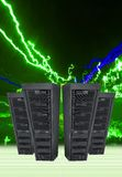 Server Array Royalty Free Stock Image