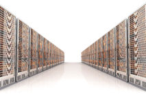 Server center Stock Photography