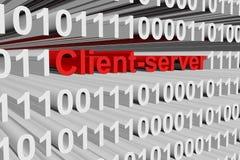 Server client Fotografia Stock Libera da Diritti