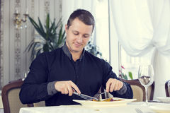 Server and the client Royalty Free Stock Photos