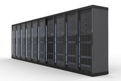 Server computer cluster Stock Photography