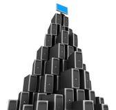 Server de rede imagens de stock
