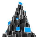 Server de rede ilustração stock
