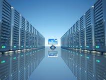 Server del calcolatore di rete Fotografia Stock