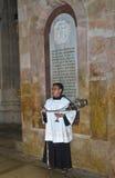 Server dell'altare nel Sepulcher santo Fotografia Stock