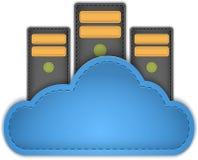 Server della nuvola Fotografie Stock