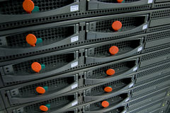 Server devices. High Availability Rack Sever devices Royalty Free Stock Images