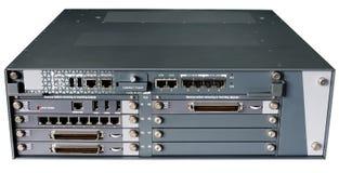 Server di comunicazione isolato Immagine Stock