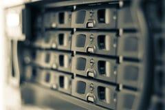 Server di rete Immagini Stock