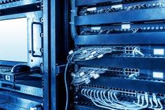 Server e commutatori Fotografia Stock Libera da Diritti