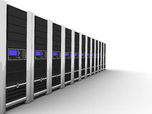 Server on earth Stock Images